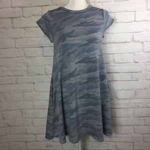 ELAN Cotton CAMO Aline Dress w/ Pockets